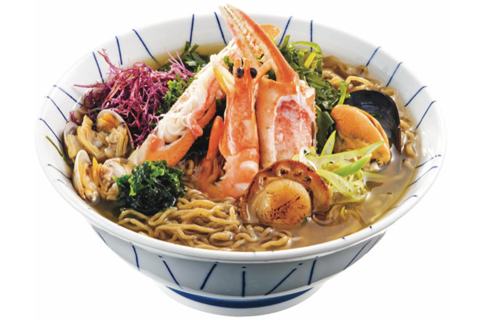 潮花まつも麺 磯風しお味( 2食入・5食入)
